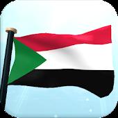 Sudan Flag 3D Free Wallpaper