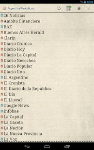 Argentina Periódicos - screenshot thumbnail