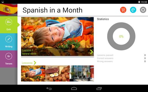 玩教育App|1ヶ月でスペイン語 Free免費|APP試玩