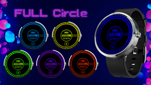 Full Circle Watch Face Wear