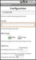 Screenshot of Move Alarm