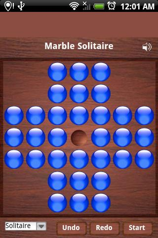 Marble Solitaire - screenshot
