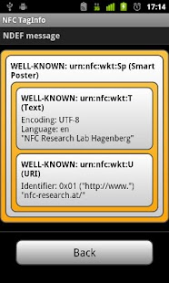 NFC TagInfo - screenshot thumbnail