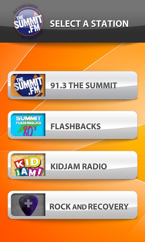 The Summit Radio - screenshot