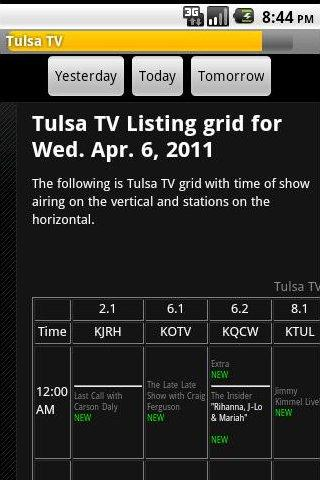 Tulsa TV- screenshot