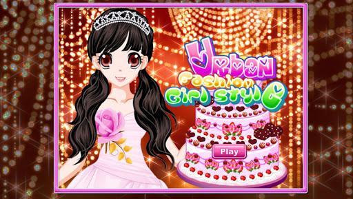 小公主的生日派对-换装及蛋糕装饰