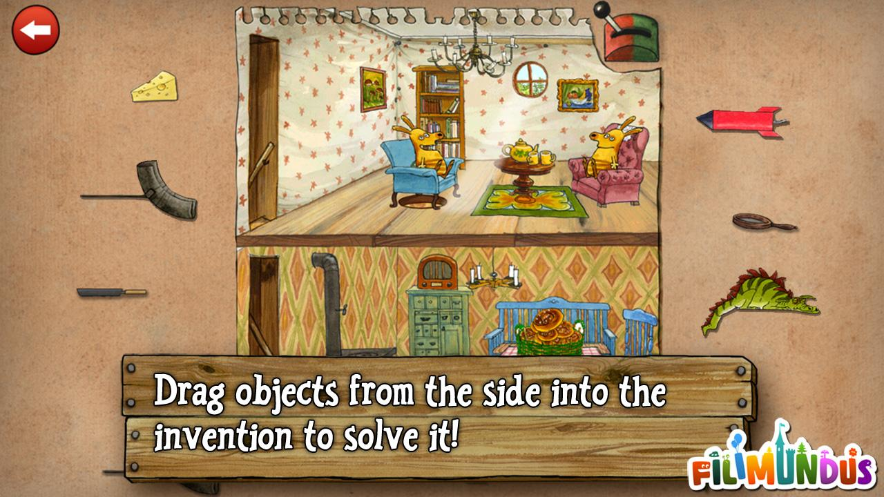 Pettson's Inventions Deluxe- screenshot