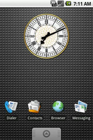Big Ben Clock Widget 2x2 - screenshot