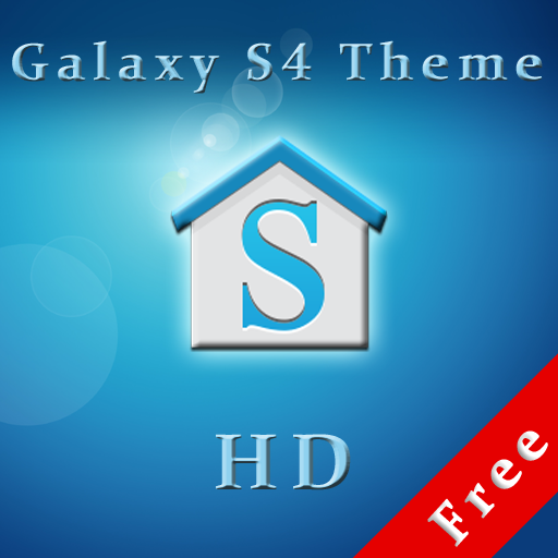 Galaxy S4 Theme HD Free (ADW) LOGO-APP點子