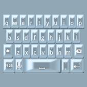 Blue Pearl Keyboard Skin
