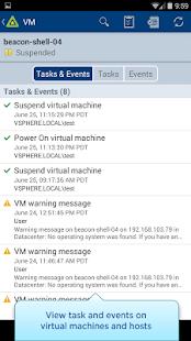 vSphere Mobile Watchlist- screenshot thumbnail