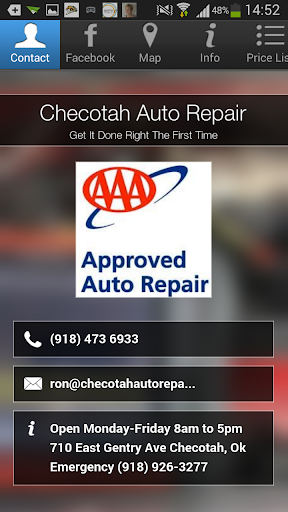 Checotah Auto Repair