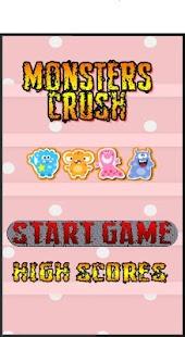 Monster Splash Crush Match 3