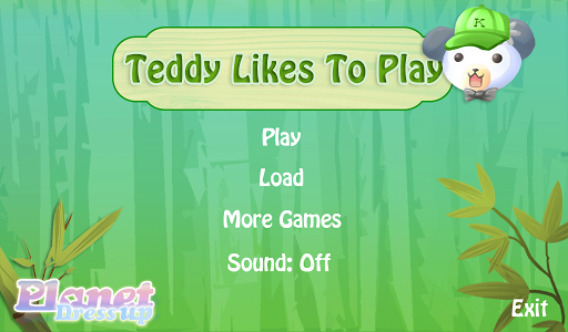Teddy Likes to Play