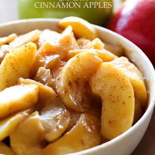 Sautéed Cinnamon Apples.