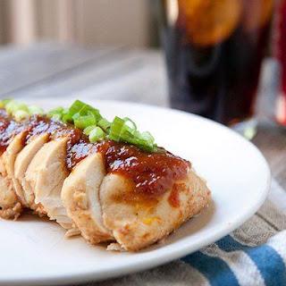 Slow Cooker Coca-Cola BBQ Chicken.