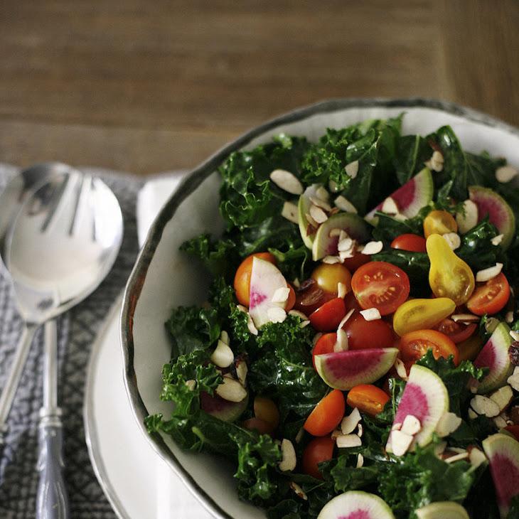 """Kale """"Love"""" Salad Recipe"""
