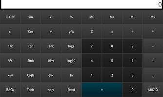 Screenshot of REAL CALCULATOR CALCNEXT