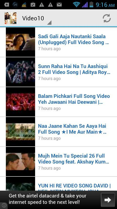 Top Hindi Songs Video HD 2014 - screenshot
