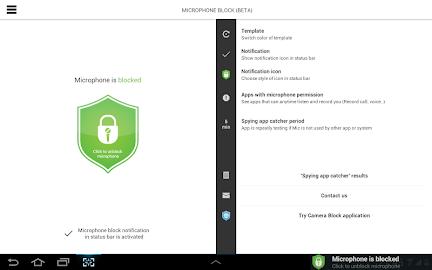 Mic Block - Anti spy & malware Screenshot 24