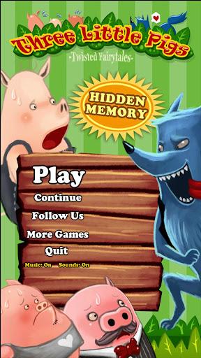 Hidden Memory - 3 Little Pigs