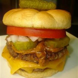 Hamburgers Chili Dog Style