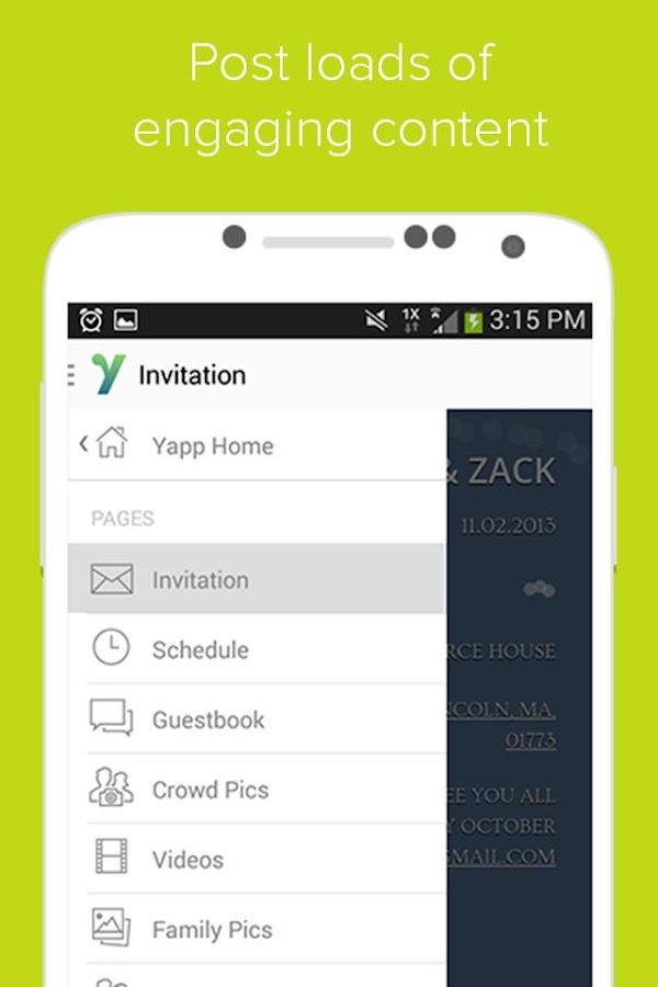 Yapp - screenshot