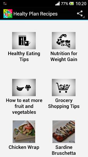 Healthy Plan Recipes