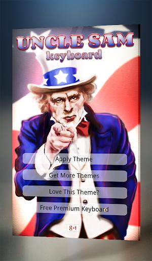 Uncle Sam Keyboard