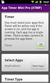 App Timer Mini Pro (ATMP) Screenshot 1