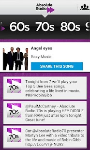 Absolute Radio TV App Remote - screenshot thumbnail