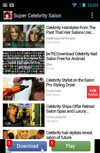 【免費娛樂App】Official New Celebrity Salon-APP點子