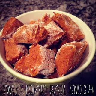 Sweet Potato Basil Gnocchi Recipe {Shhh, it's Paleo!}