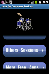 Loops for drummers sessions - screenshot thumbnail