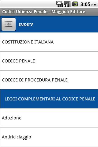 Codici Udienza Penale- screenshot