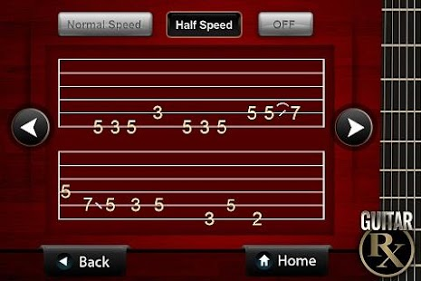 Guitar Rx Riff Practice App- screenshot thumbnail