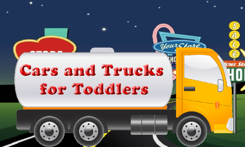 cars and trucks for toddlers screenshot