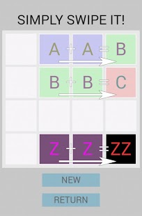 Alphabet 2048- screenshot thumbnail