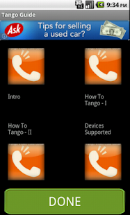 Tango Calls Guide - screenshot thumbnail