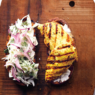 Curried Chicken Sandwich.