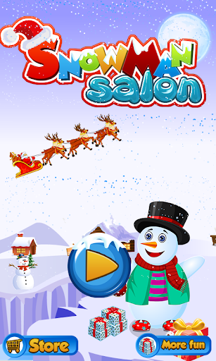雪だるまサロン - 子供向けゲーム