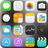 iOS 7 Launcher Theme
