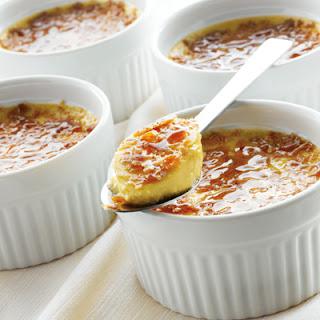 Guilt-Free Crème Brûlée.