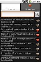 Screenshot of Bible Verses (Ad free)