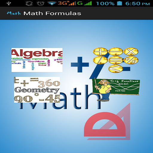 Maths Formulas - screenshot
