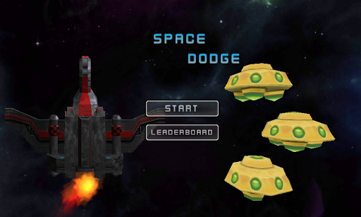 Space Combat - Dodge UFOs