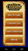 Screenshot of LoL Counter Tools