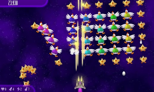 Chicken Invaders 4 HD (Tablet) - screenshot thumbnail