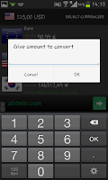 Screenshot of (QQ) Currency Converter