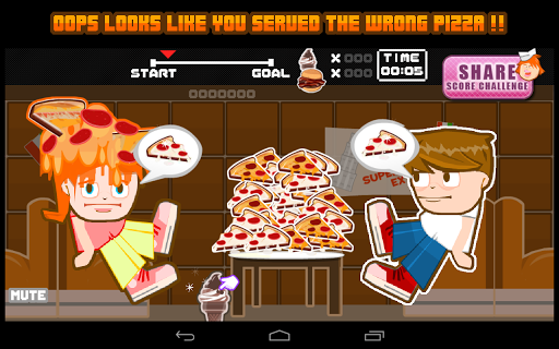 Pizza Pepperoni Food Fight
